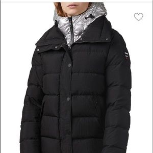 Pajar Quilted Down Short Puffer Jacket
